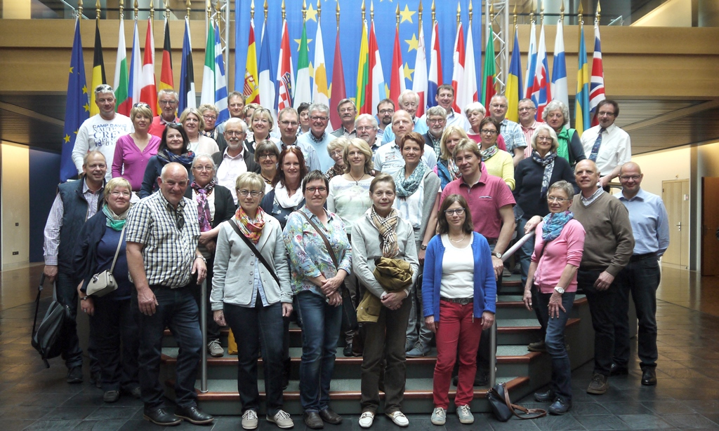 CDU-Tour nach Straßbourg