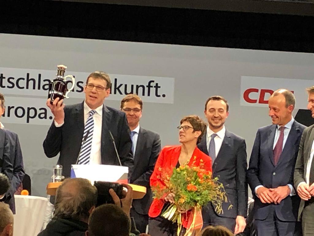 Auftakt des Europa-Wahlkampfes in der Gemeinde Eslohe