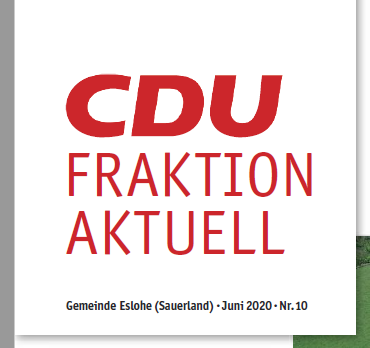 CDU Frak­ti­on Aktuell